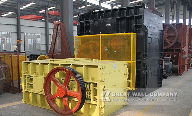 Four Roller Three crushing cavities crusher for coal crushing plant