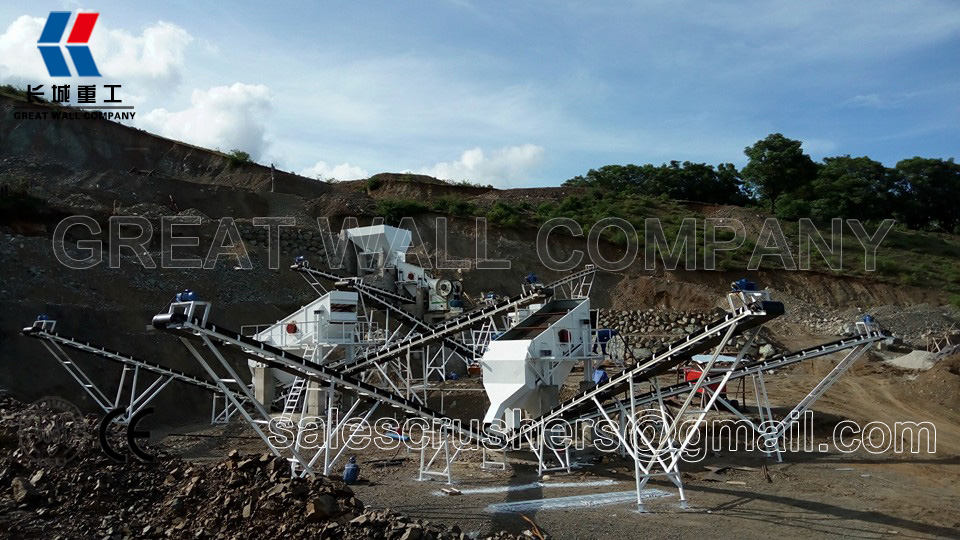 cone crusher and jaw crusher in crushing plant